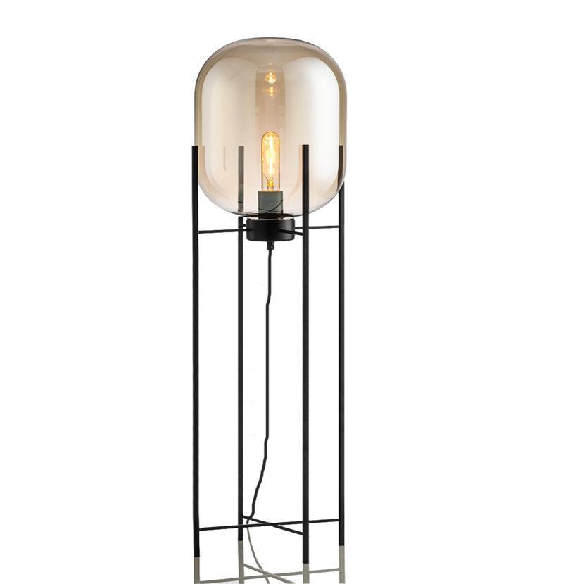 현대 LED 스톤 Lamparas 드 Pie Tripot Lampara 램프 스탠드 플로어 라이트 다이닝 룸 생활 램프