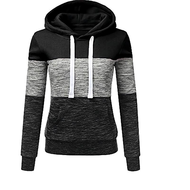 Sonbahar kadın hoodies ince kapüşonlu tişörtü kadın mont kadın rahat spor streetwear marka giyim T200828