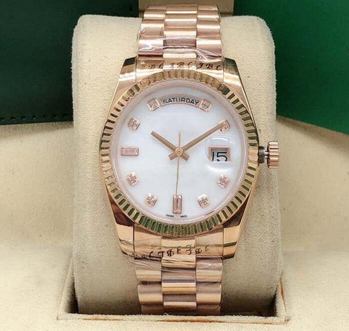 2022 Горячие самые продающие моды классические часы женщин постоянный календарь 36 мм сапфировая нержавеющая сталь автоматические механические машины
