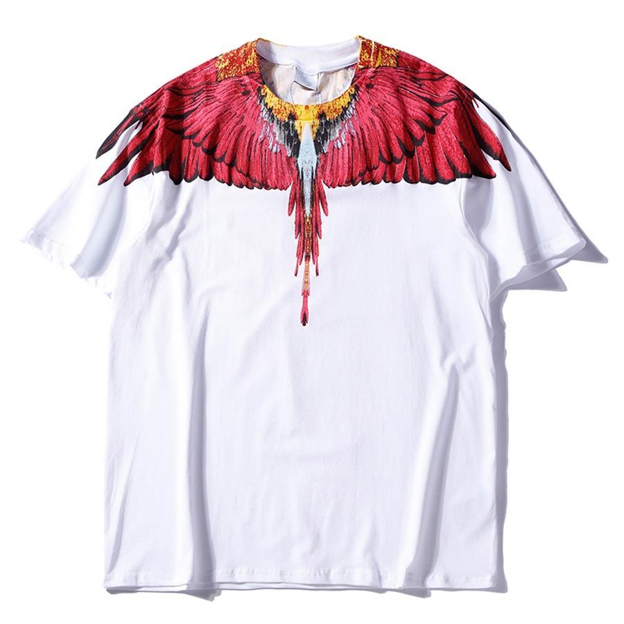 Freier Transport von hochwertigen Baumwoll-T-Shirts Sommer, 2021, europäisch amerikanisches kurzärmeliges T-Shirt Mode und lässig bedruckt SEM M171