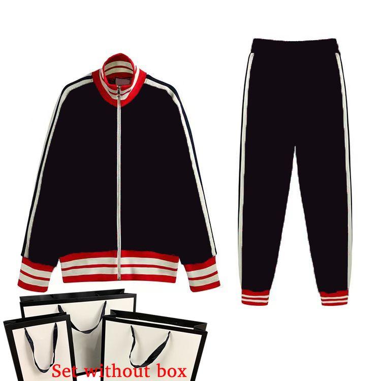 남자의 tracksuits 슈트 여성들은 클래식 편지 2 피스 정장 캐주얼 긴팔 스포츠 패션 스포츠웨어 바지 + 의류 3 색 크기 S-2XL 가을 겨울