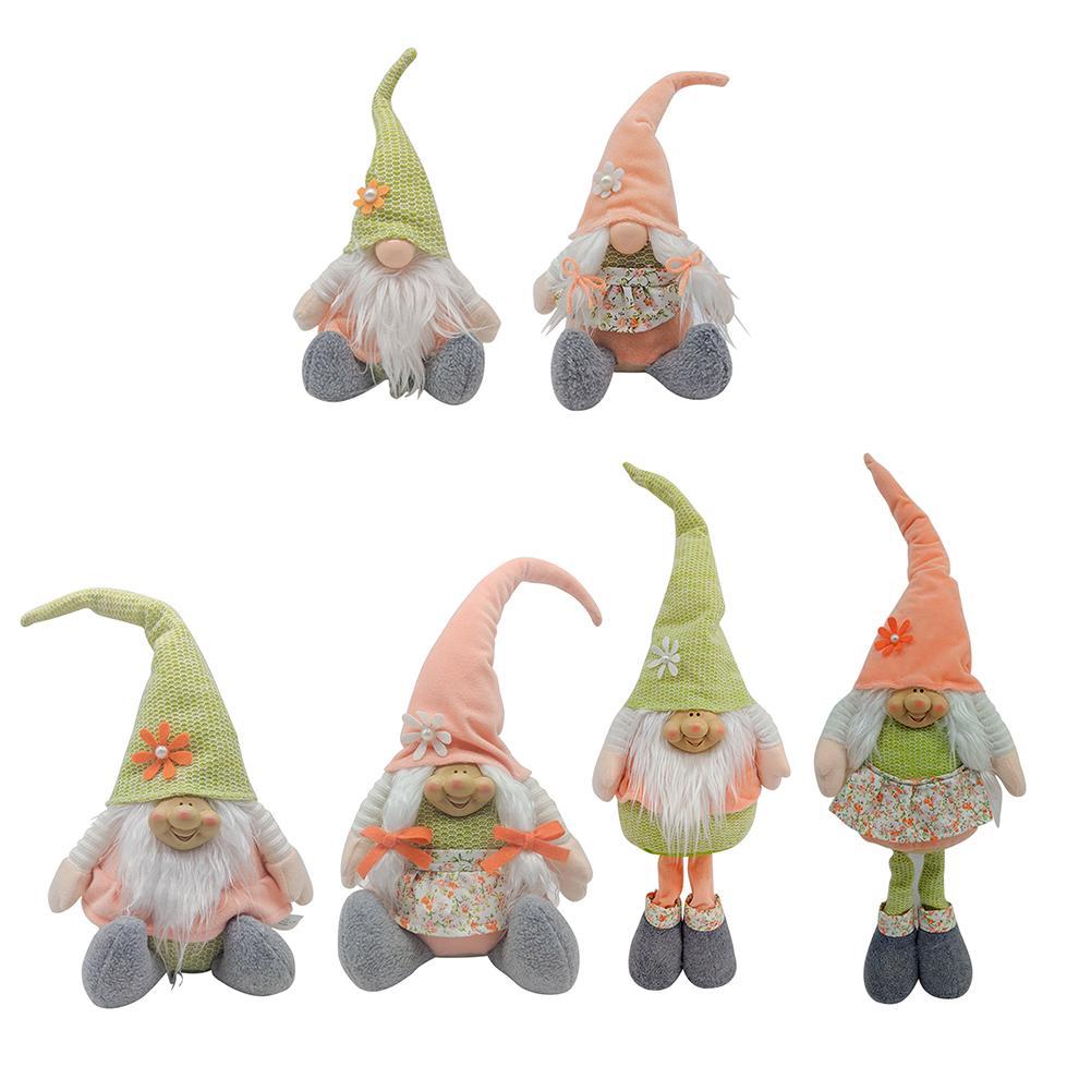 Пасхальный декор Craft Wedding Home Decor Safer Gnome Bunny безликая плюшевая кукла DIY подарочная вечеринка картина украшения