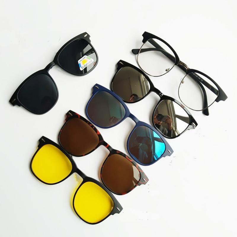 Lente clip su occhiali da sole uomini donne occhiali polarizzati occhiali da vista magnetico prescrizione ottica per occhiali da vista
