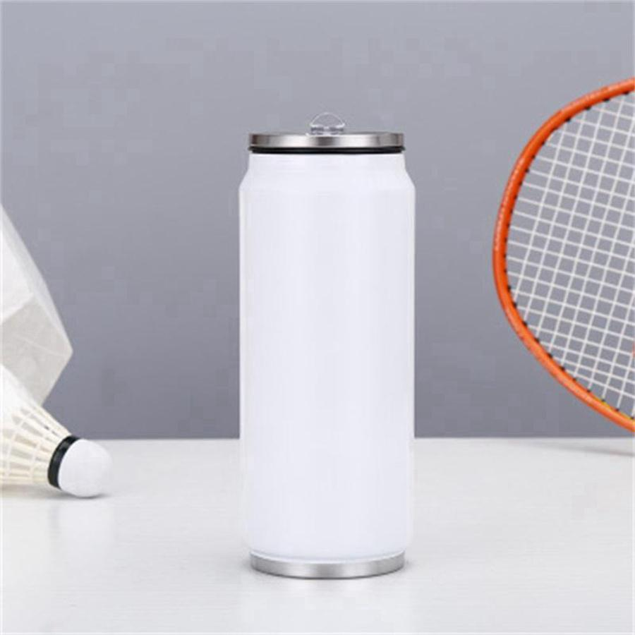 17oz süblimasyon kola 500 ml su şişesi toplu çift duvarlı paslanmaz çelik kola şekli bardak yalıtımlı vakum deniz nakliye rRB5711