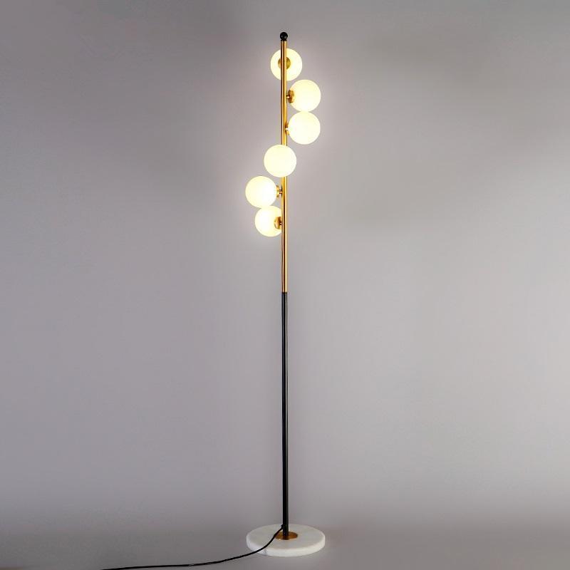 Современный светодиодный напольный лампа гостиной, стоя 90V-260V Nordic Hotside Home Украшения Новинка Спальня Светильники