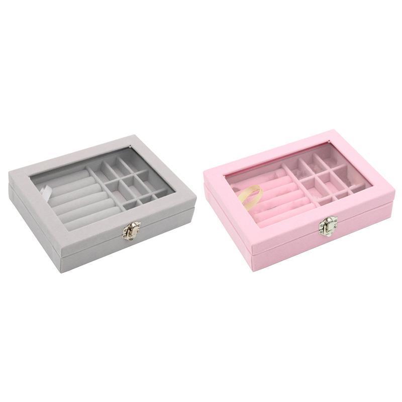 Schmuckbeutel, Taschen Design Flanell Box Princess Storage Kosmetik