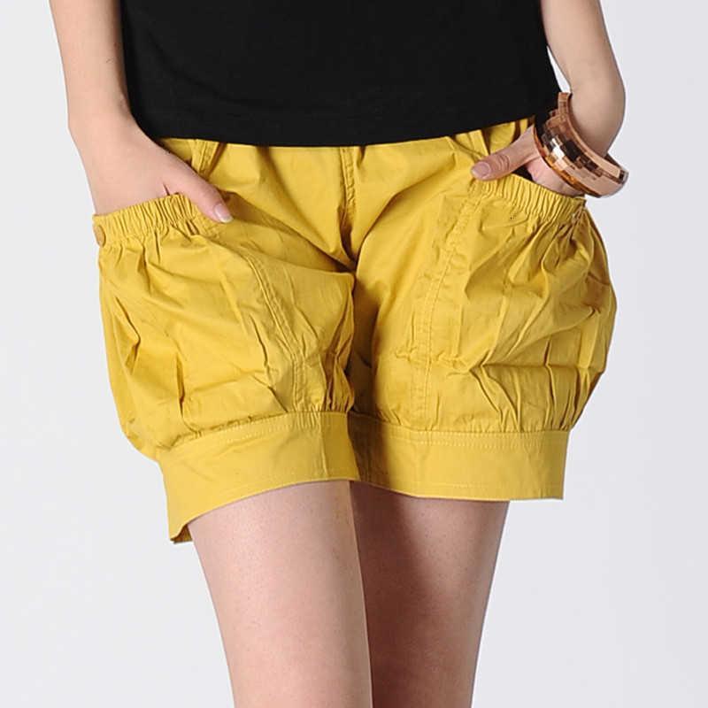 Damen Shorts Sommer Damenmode Koreanische Art Lose Baumwolle Harem Casual Womens Plus Size Bottoms S-3XL Y133 Z13W