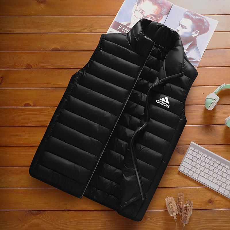 Мужские жилеты - поддающийся бренд куртка осень и зимний жилет вниз хлопок без рукавов большой размер теплый джакке