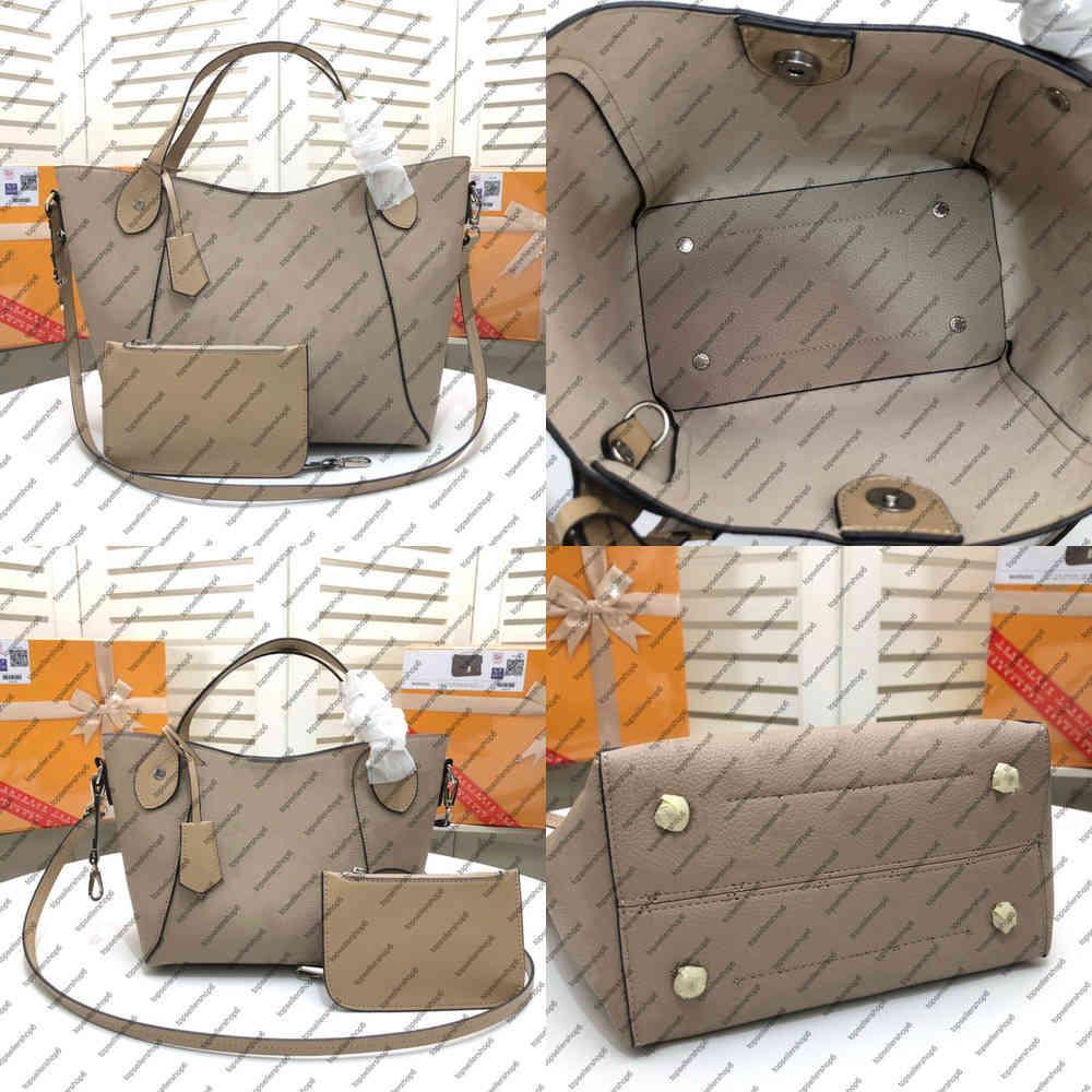 M54351 هينا مساء حقيبة حمل النساء قماش حقيقي العجل جلد الفضة الأجهزة حقيبة محفظة حزام حقيبة الكتف حقيبة عبر الجسم