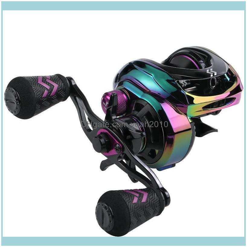 Sports & Outdoorssougayilang 9+1Bb Top Quality Baitcasting Reel 8.0:1 Gear Ratio With Aluminum Spool Magnetic Brakes Fishing 8Kg Max Drag Re