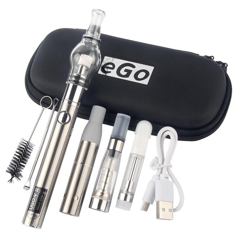 Ugo-V II DAB Pen Pen EVOD 4 in 1 VAPE STARTER KIT AGE HERB HERB VAPorizer CE4 E Globo liquido Globo 510 BATTERY BATTERIA