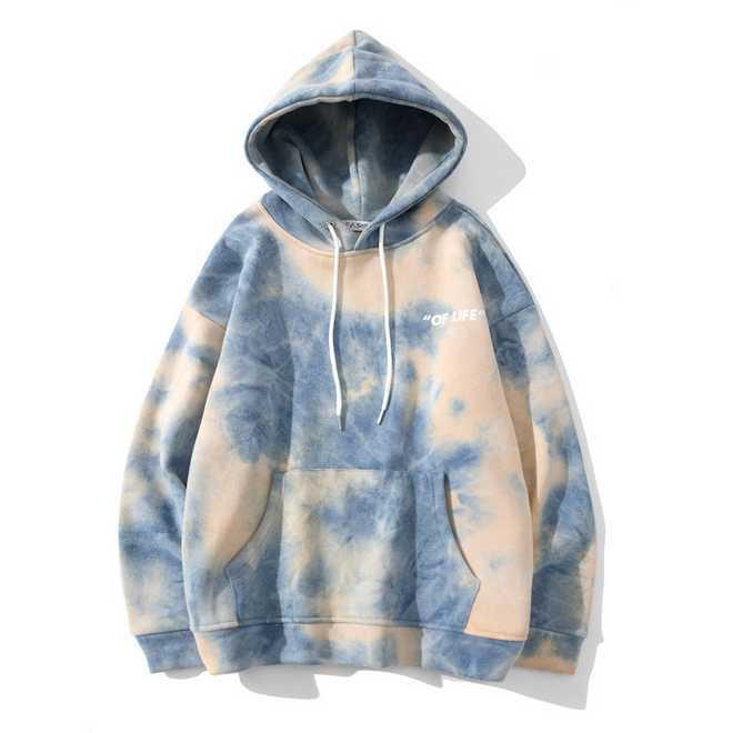 Hommes teints hiver plus velours hiphop hiphop sweatwear automne harajuku sweat-shirt surdimensionné couple pull-ovin hipster tops