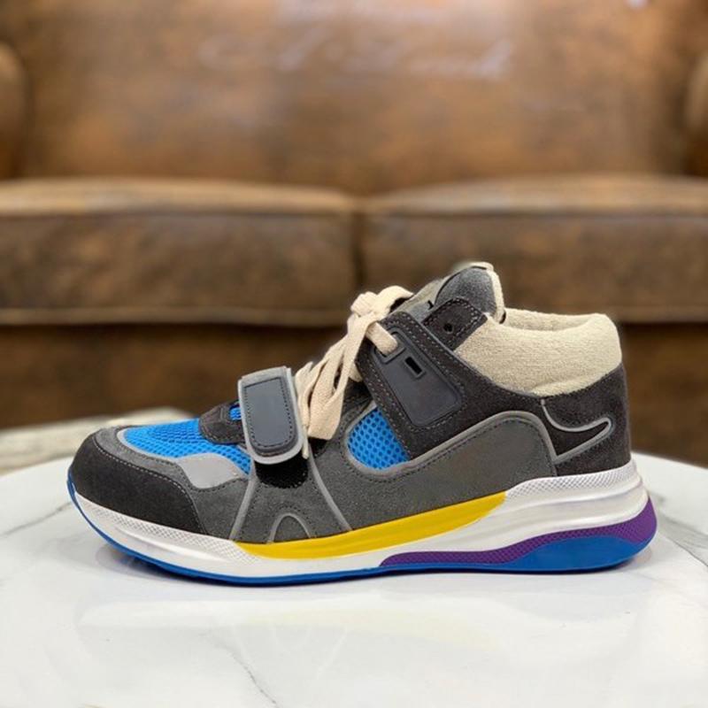 Classico Retro Reale Pelle Donne Designer di Lusso Designer Casual Scarpe da uomo Top Quality Mens Sneakers Mocassini Lace Up Fashion Luxurys Shoes Womens with Box Size 35-46