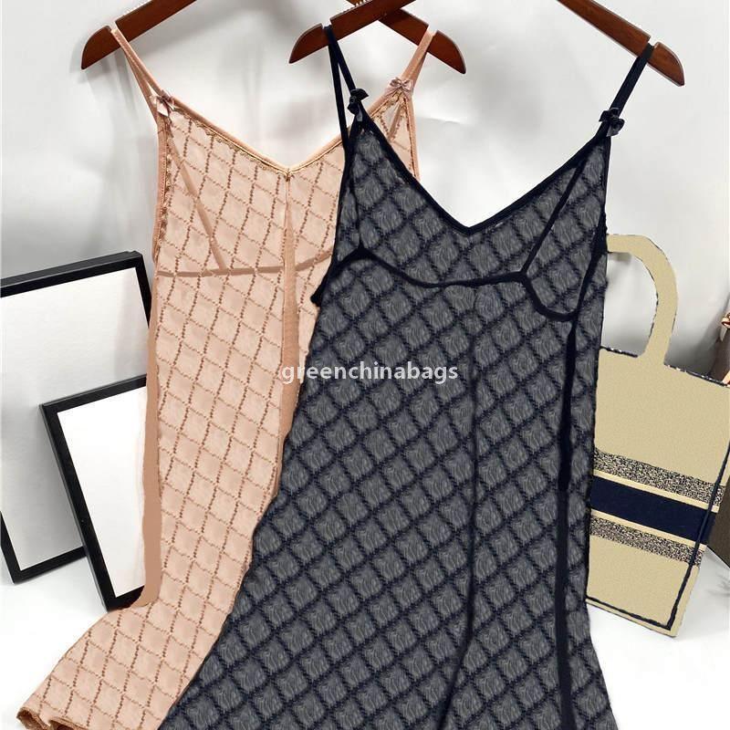 Womens Lace Sleepdress 속옷 럭셔리 편지 인쇄 여성 섹시한 란제리 매력 숙녀 결혼식 브래지어 속옷 v
