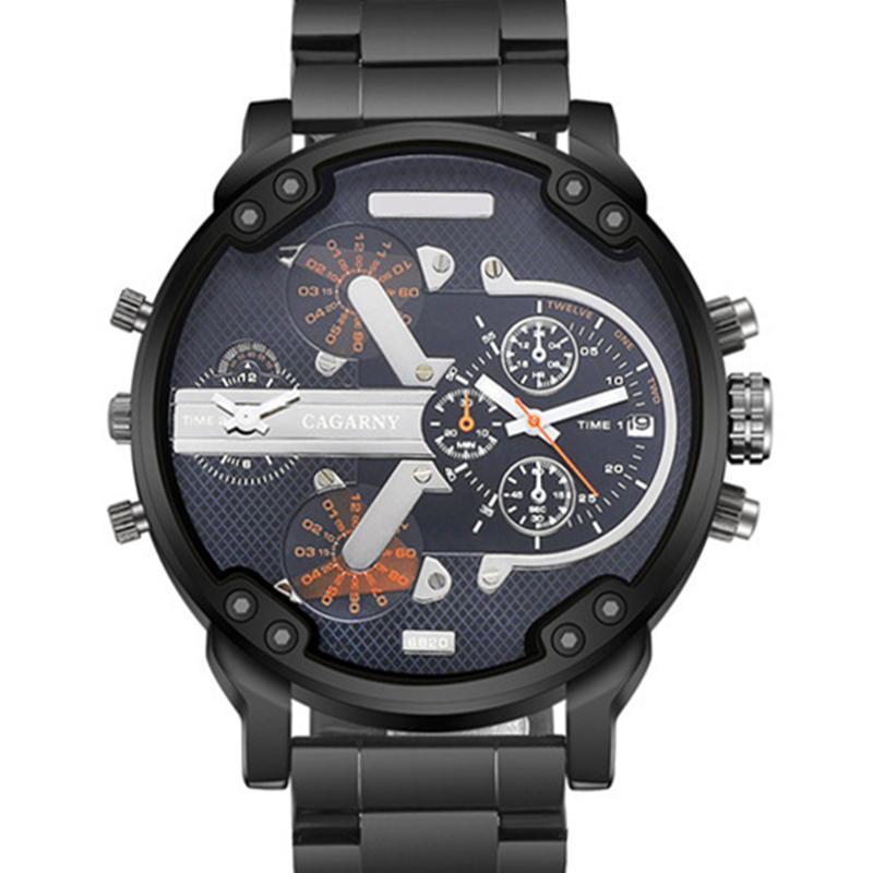 Relogio Masculino Hombres Relojes Deporte Reloj de cuarzo de acero inoxidable Casual Reloj Muñeca Para Relojes de pulsera
