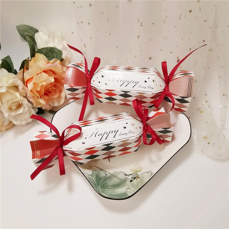 Geschenk Wrap 20/100 stücke Hochzeitsbevorzugung Verpackung Box und Taschen Süße Süßigkeiten Bar Dragee Boxen Baby Shower Geburtstag Gefälligkeiten Bonbonniere