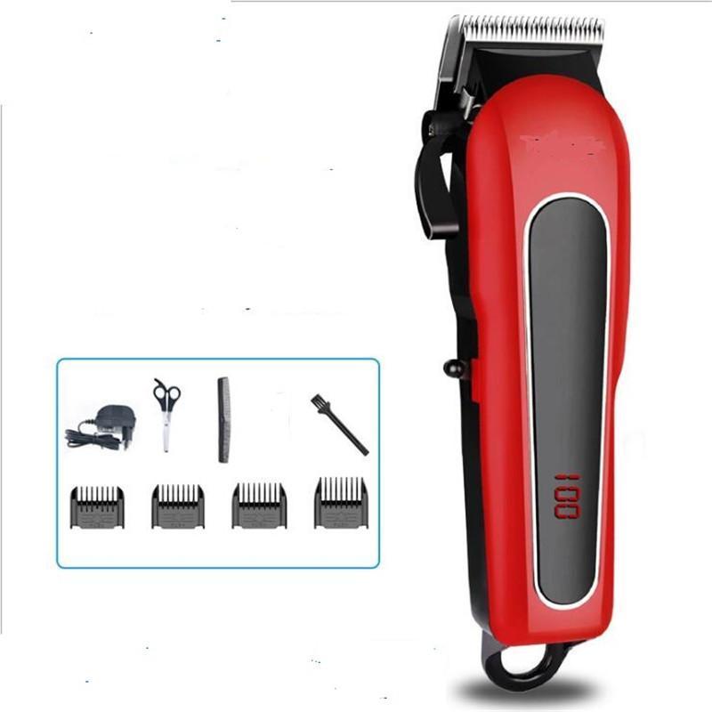 Clippers Cabelo Profissional Elétrico Barbear Clipper Cabeça De Cabeça De Cabeleireiro Máquina De Cabeleireiro Barbershop Hairdress Styling De Barbear Cortador