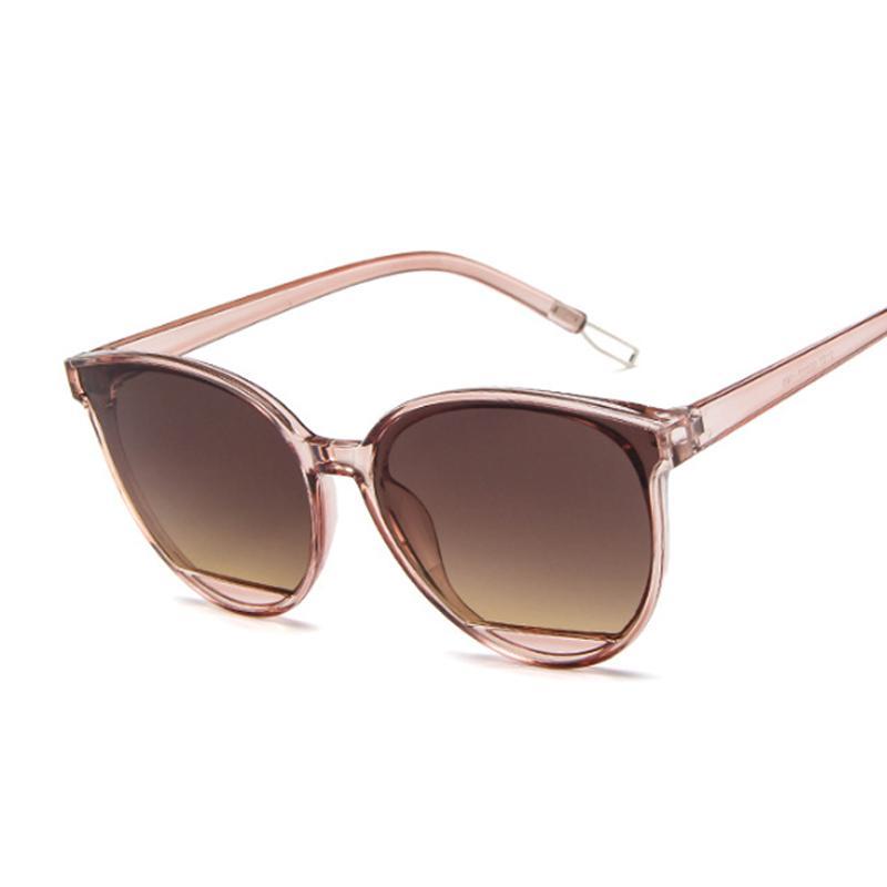 Novo espelho sexy óculos de sol mulheres designer estilo luxo vintage gato olho preto sol óculos femininos uv400 oculos