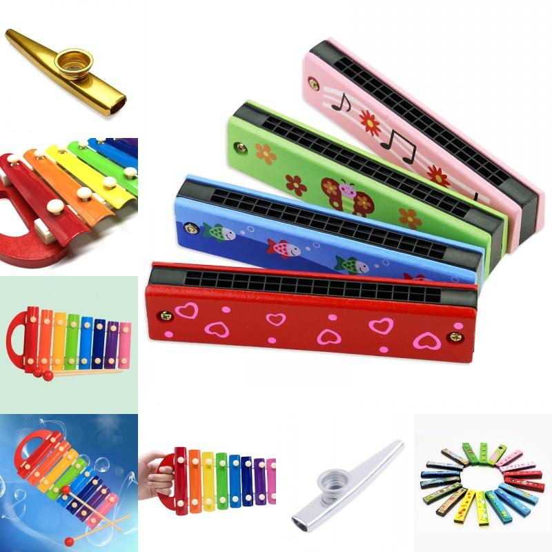 Puzzle Educazione precoce strumento musicale giocattolo per bambini Armonica per bambini xilofono percussioni in metallo Kazudi LXX 1279 Y2