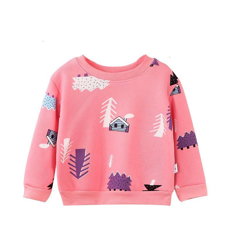 """Top-Baby-Plüsch-Warm-Pullover-Jungen des Babys der Kinder und der Mädchen """"Langarm-T-Shirt"""""""