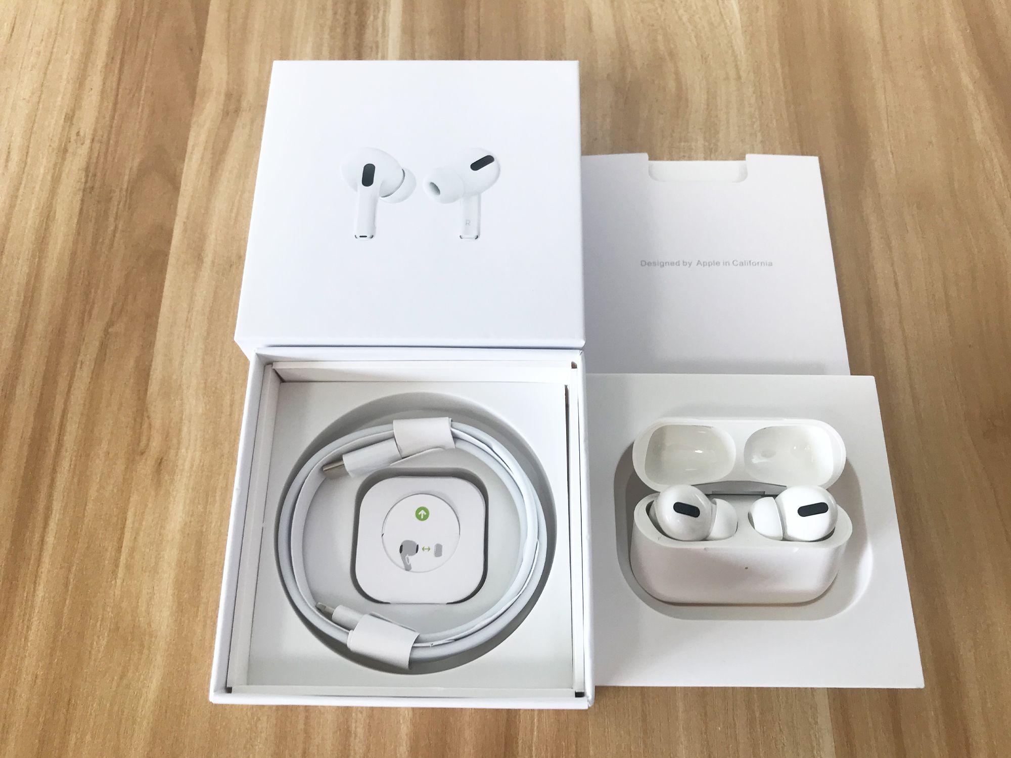 Airpods Pro Air Gen 3 AP3 AP3 AP2 H1 Chip Metal Dobradiça Capas de Cobrança Sem Fio Bluetooth Headphones PK Pods 2 AP3 PRO com ANC com cancelamento de ruído