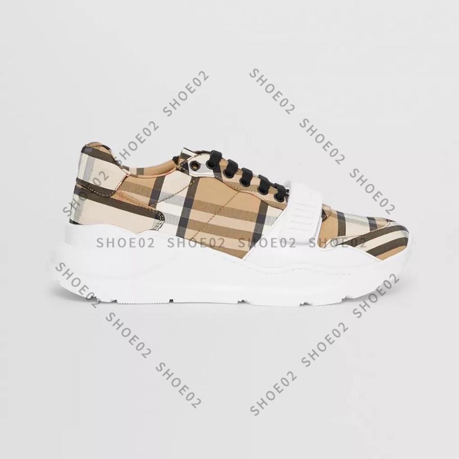 Alta Qualidade Sneaker Sapatos Casuais Couro Real Shell Sneakers Treinadores Listras Sapato Moda Trainer para Homem Mulher Wish Box 01
