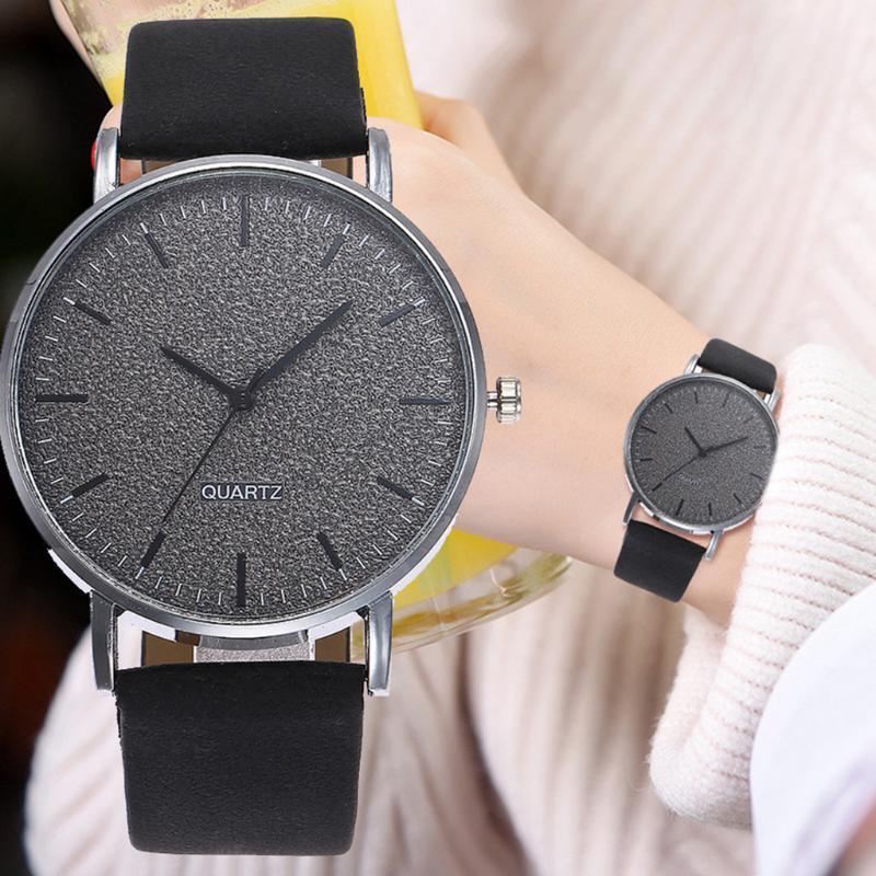 Wristwatches Women Watches Fashion Leather Casual Watch Analog Female Clock Starry Quartz Wristwatch Relogio Feminino