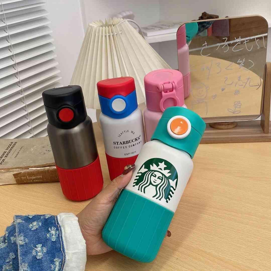 Xingbake 스테인레스 스틸 보온병 여신 절연 컵 반송 컵 휴대용 부부 커피 남성과 여성용 차량용 컵 FZIT7P8X