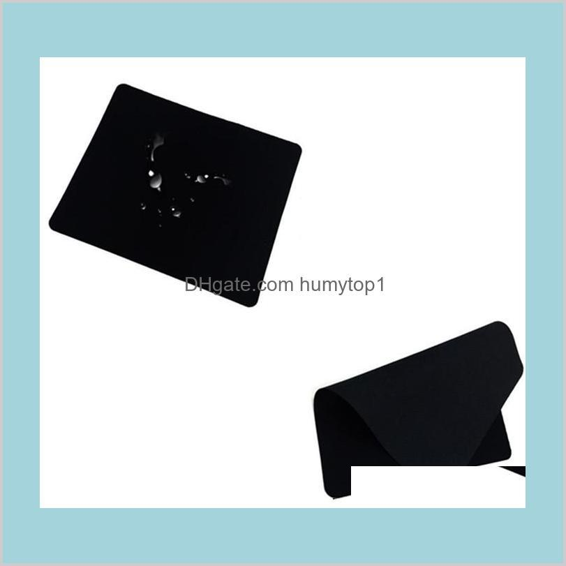 1.2Mm Thickness 20.0Cmx24.0Cm Natural Gamingmouse Pad Rubber Black Tasteless Mice Mouse Pad Mat Mousepad Tfdgb Ekak2