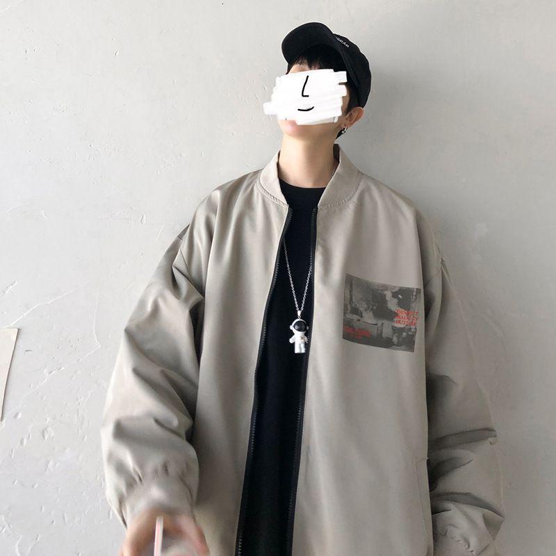 2021 Новая бейсбольная куртка мужская весеннее пальто