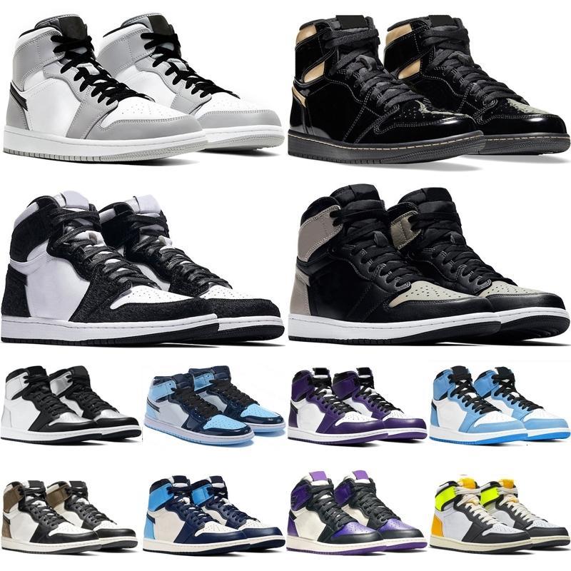 1 mens basquete sapatos homens mulheres pretas ouro chicago volt turbo verde homenagem ao lar sombra ao ar livre esportes sneakers treinadores