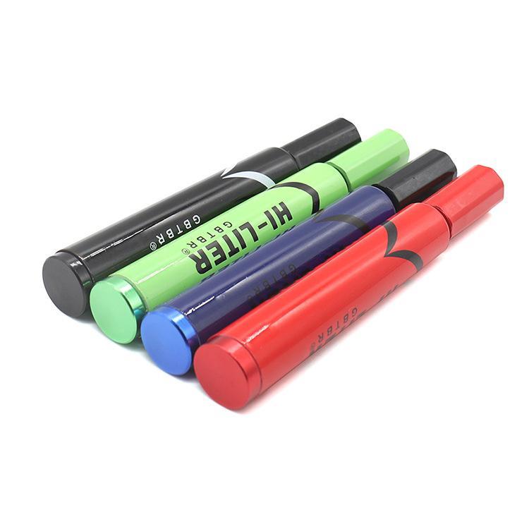 Marcador caneta tubo de metal colher erval tubos tubos de cigarro titular acessórios Bom criativo varejo / atacado escala portátil
