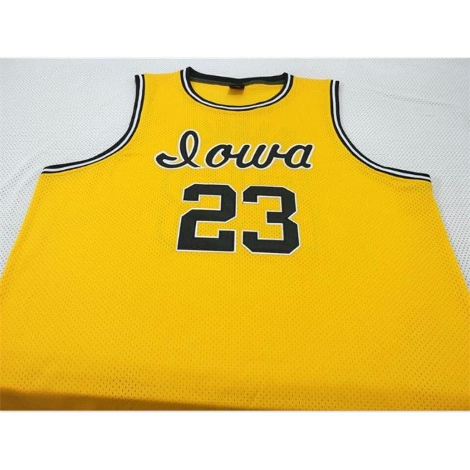 Özel Bay Gençlik Kadınlar # 23 Roy Mermer Iowa Hawkeyes Koleji Basketbol Forması Boyutu S-6XL veya Özel Herhangi Bir Ad veya Sayı Forması