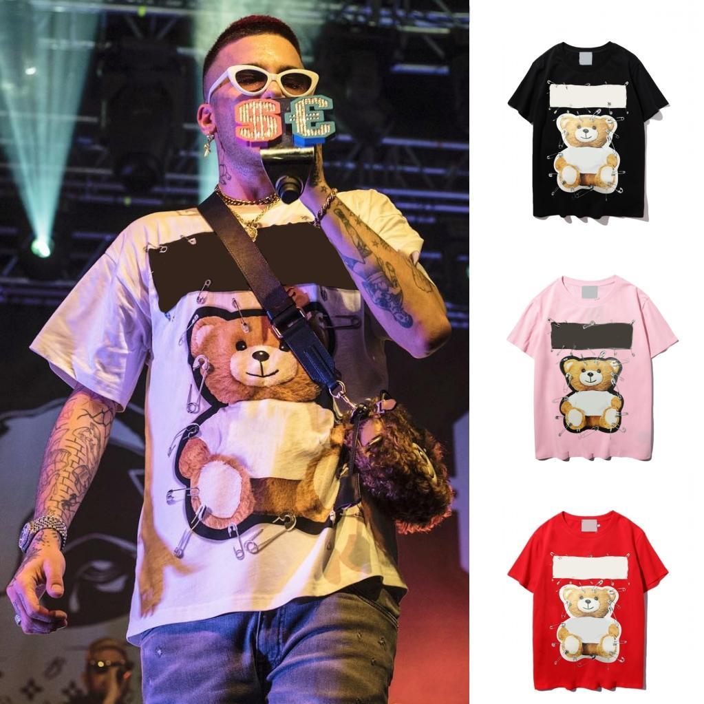 2021 Donne Designer Vestiti T Shirt MS Uomo Movimento Modo Fashion Modern Traspirante in cotone puro con maniche corte
