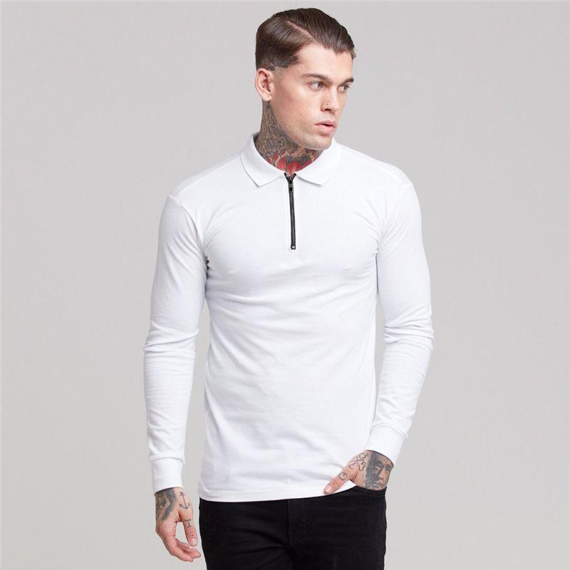 Chemise à manches longues à manches longues à manches longues de la marque