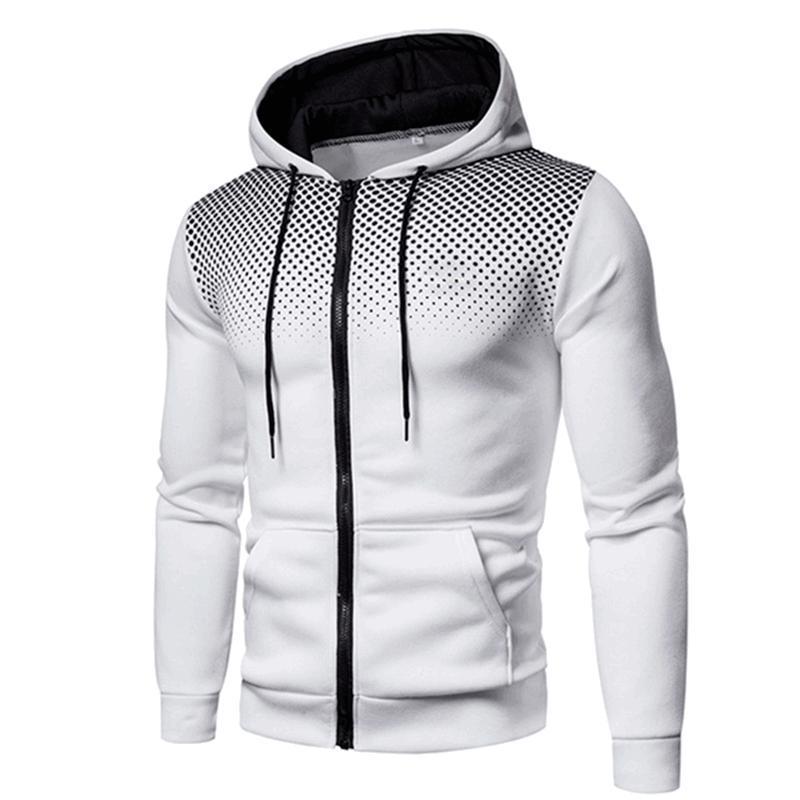 Sweats à capuche Homme Sweatshirts Hommes Vestes Manteaux Zipper Male Chacksuit Mode Veste Mens Vêtements Hiver Coton SPOODIE SPOOD -40