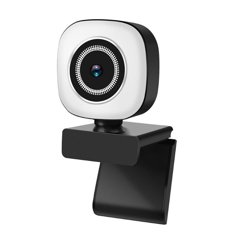 1080P / 2K / 4K веб-камера USB USB Plug and Play со встроенным микрофоном света для живого потока видео вызова конференции онлайн-обучения мини-камеры