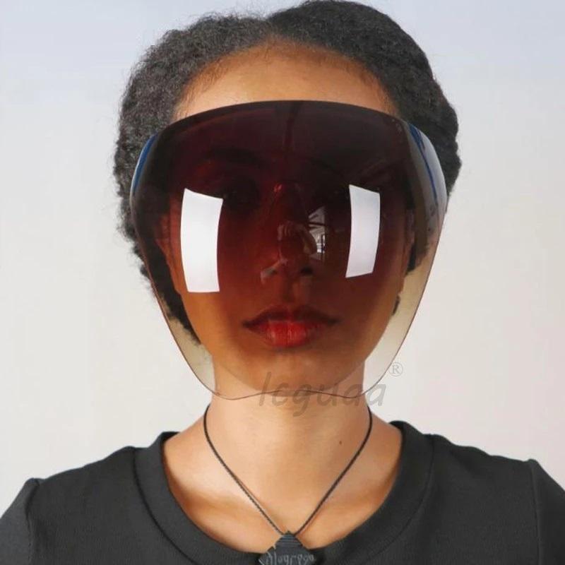 남성 여성의 여성용 편재 보호 안경 2021Gggles 안전 Blocc 안티 스프레이 마스크 고글 유리 선글라스