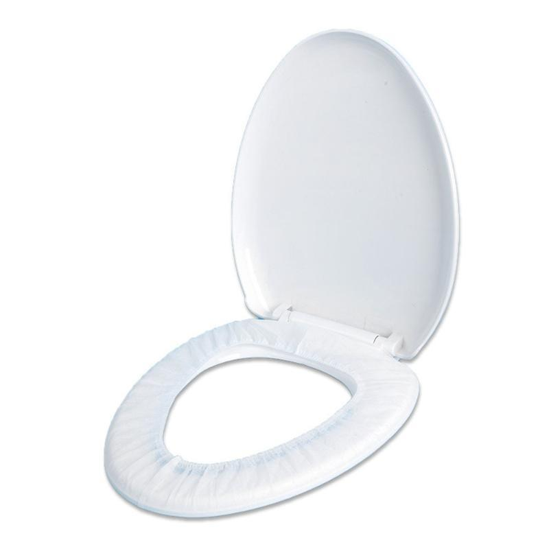 Toilet Seat Covers Disposable Cover, Cover Cushion, Non-woven For Family And Travel, Individually Packaged