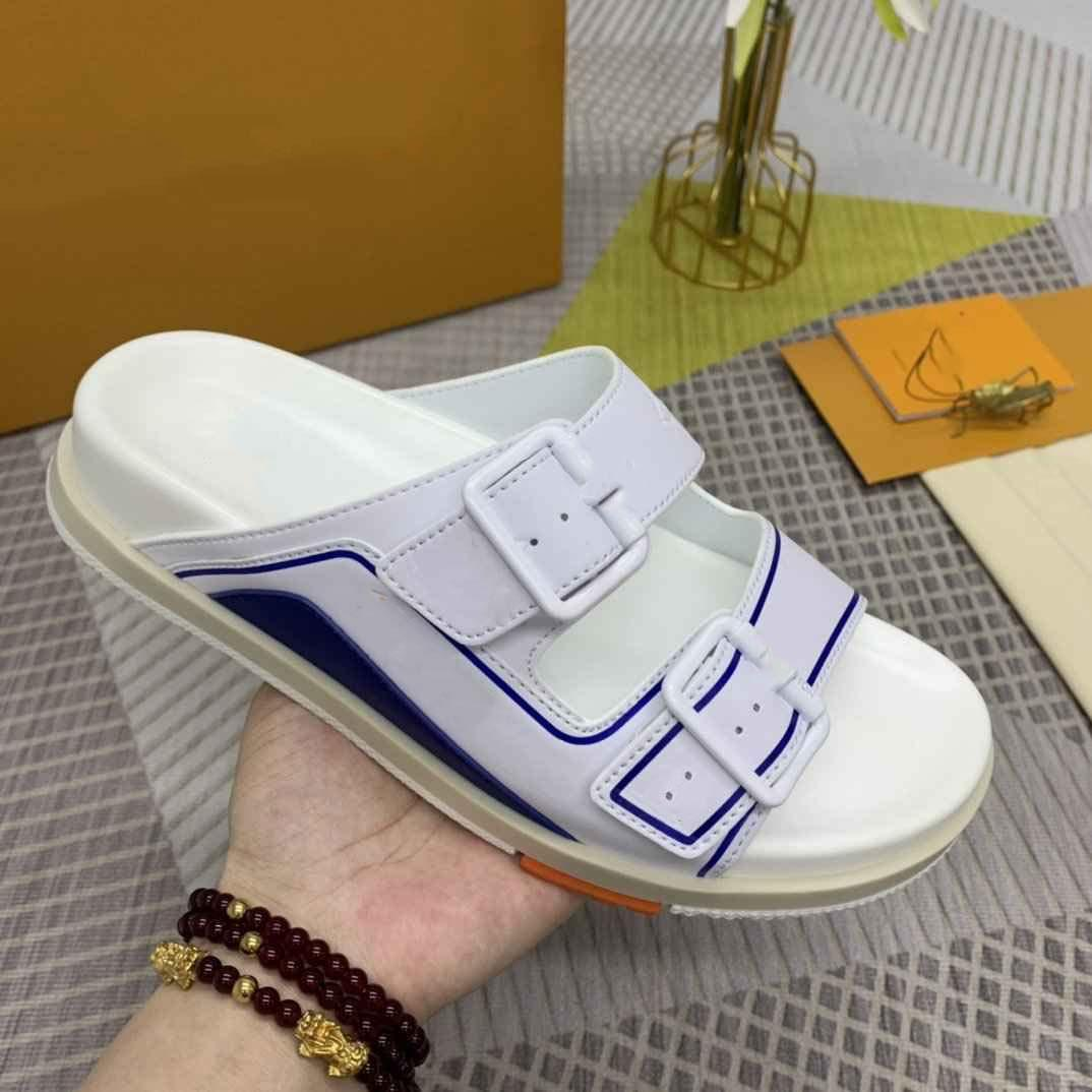 Hombres mujeres diapositivas deslizadores zapatillas espuma corredor desierto arena triple negro hueso blanco resina diapositiva sandalia exterior zapatilla tamaño 38-46