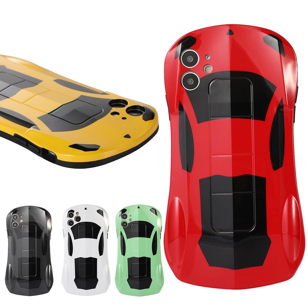 Serin Süper Araba Askeri Sınıf Damla Koruma Yumuşak TPU Cep Telefonu Kılıfları iPhone 12 11 Pro Max Mini XR XS X 8 7 Artı SE2 Şık Silikon Kamera Koruyucu Kapak Conque