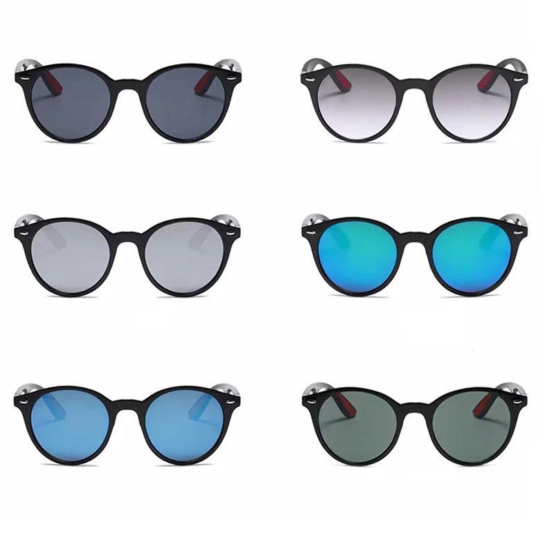 العالمي المرأة الرجال النظارات الشمسية السوداء ظلال الشمس الظلام نظارات عدسة 6 ألوان الأخضر رمادي فضة العدسات الزرقاء