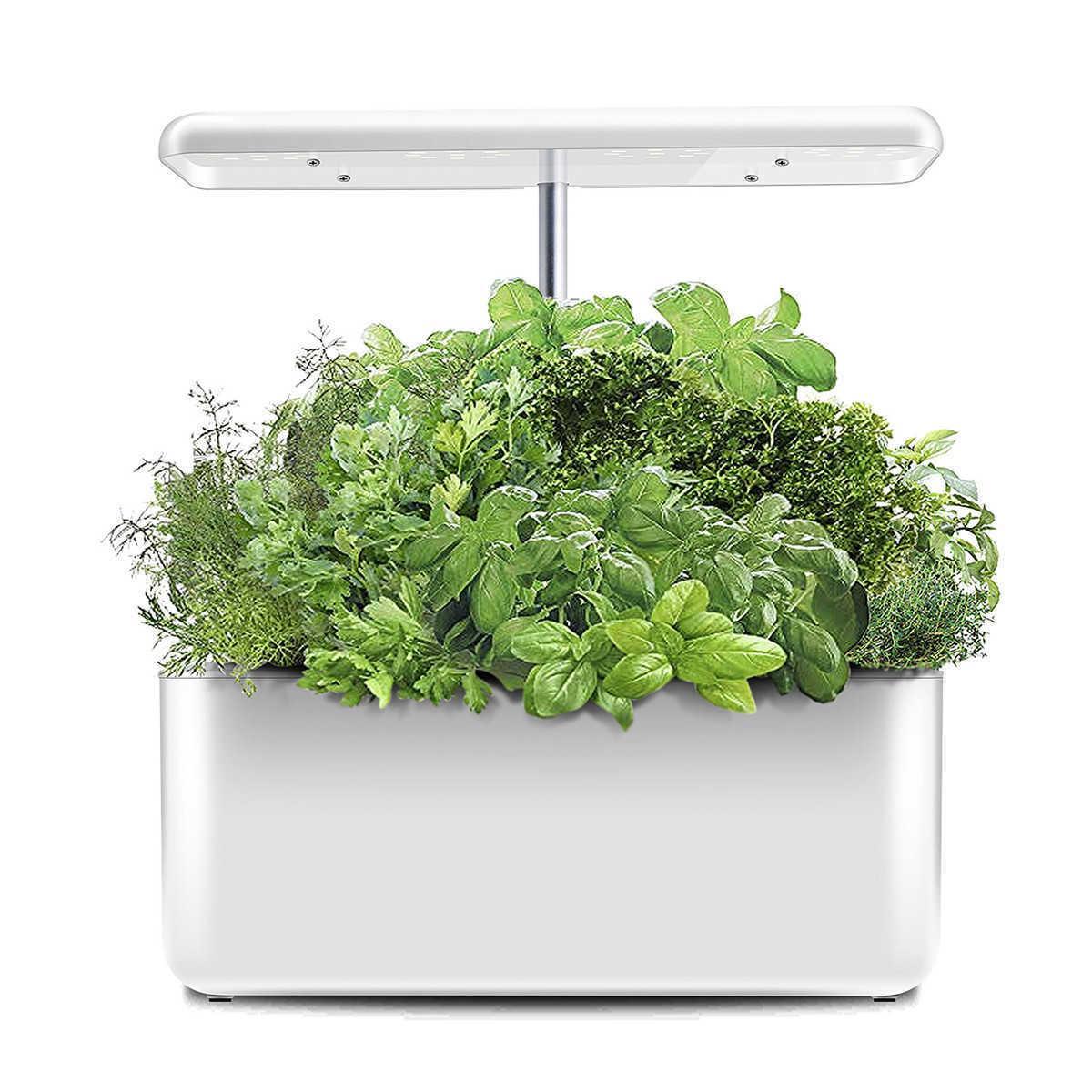 Ecoo cultivador de cultura de planta de plantas de cultivo hidroponia cultivação crescer luz pote de berçário automático de plantas 210615