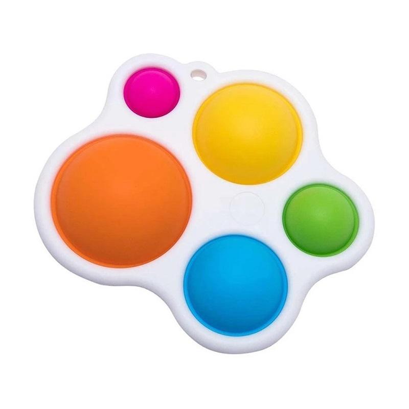 2021 Conjuntos de Presentes mais novos Dropshipping Fidget Simples Dimple Fat Brain Brinquedos Stress Relief Hand Andado Educacional para Crianças