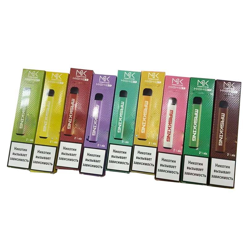 Maskking alto pro descartável vape caneta pod kit de cigarro ingleses da Rússia versão mk e cigarros 1000 puffs vs puff bar