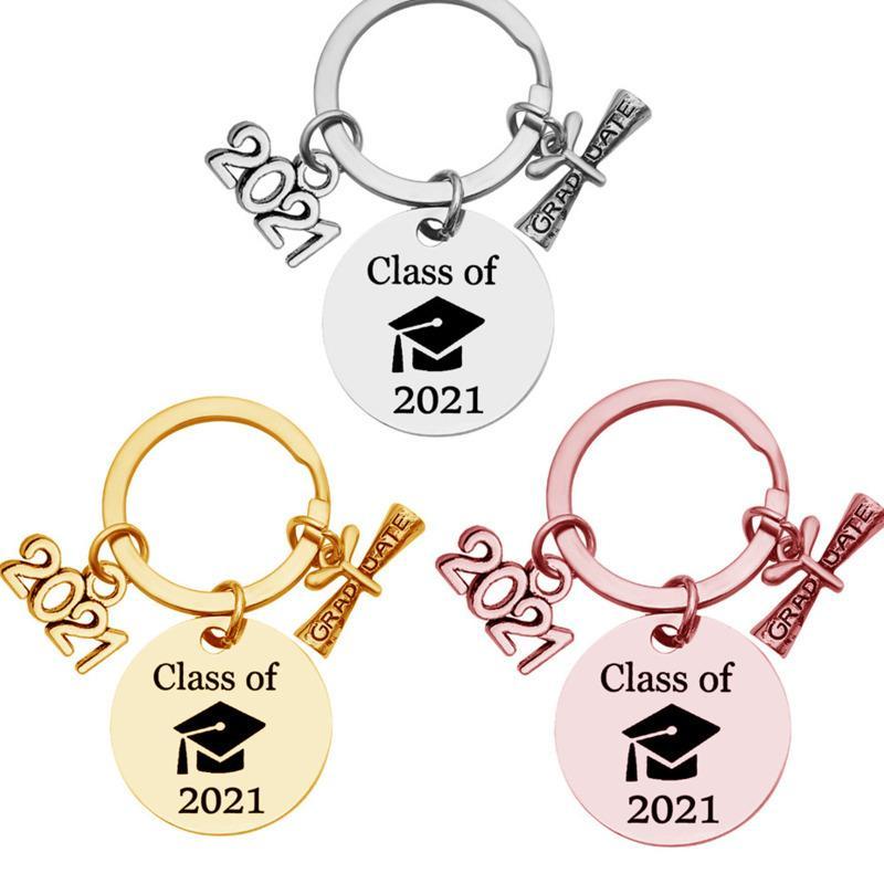 Lisansüstü Anahtarlık Sınıf 2021 Okul Üniversitesi Öğrenci Mezuniyet Hediye Paslanmaz Çelik Anahtarlık Takı Anahtarlıklar Mini Aşk Hediye G31902
