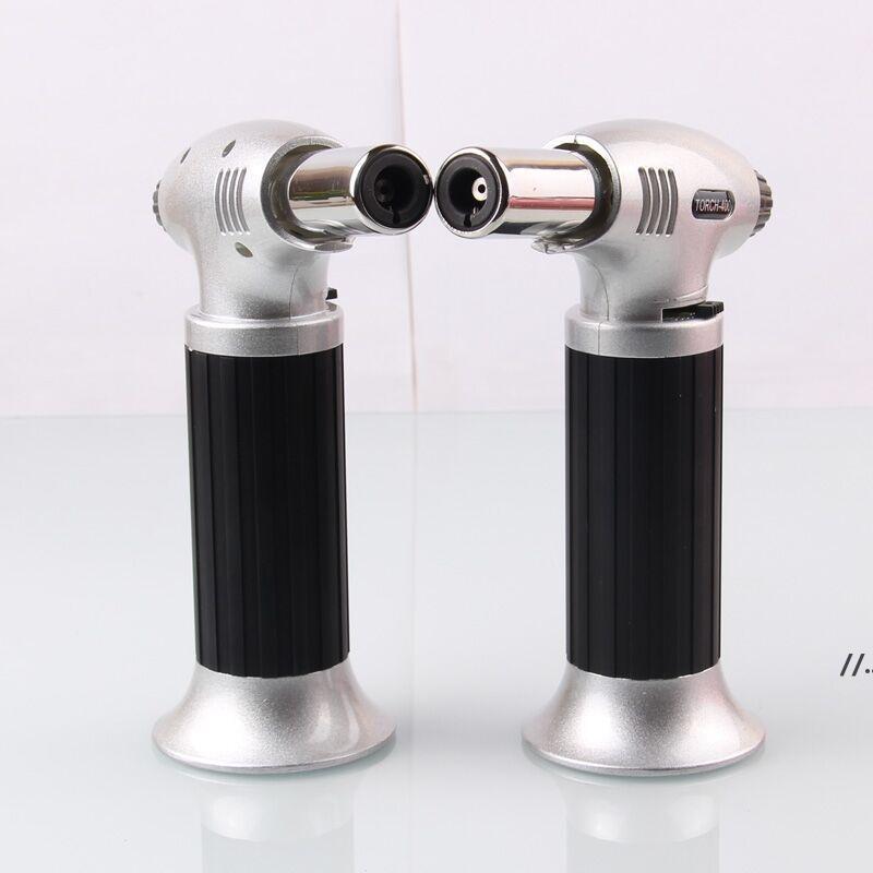 새로운 1300C 부탄 스코치 토치 제트 불꽃 라이터 요리 재충전 조정 불꽃 주방 가벼운 점화 스프레이 건 피크닉 도구 AHA4469