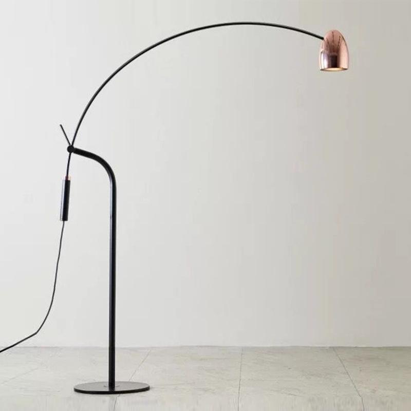 현대 LED 유리 공 삼각형 서 서 램프 바닥 스탠드 루미나리아 pendente 산업 장식 거실 침실 램프