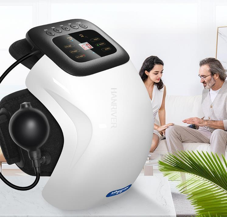 Electric Intelligent Knee Physiotherapy Joint Instrument Moxibustion Legs Compress Massage Warm Vibration Cold Leg Defense Massagers