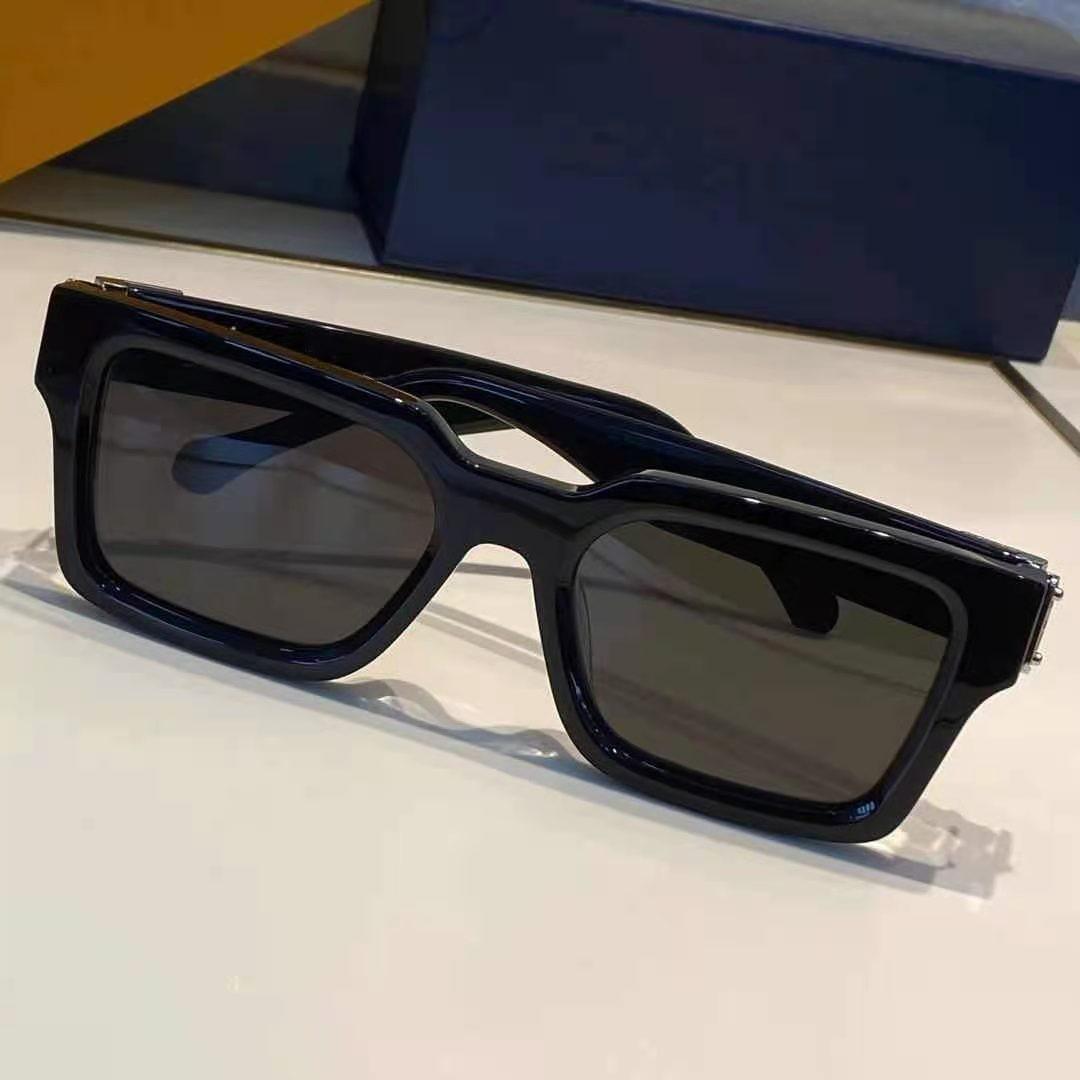 Qualidade superior 1413 Mens óculos de sol para mulheres Homens Sun Óculos de óculos Estilo de moda Protege os olhos UV400 lente com caso